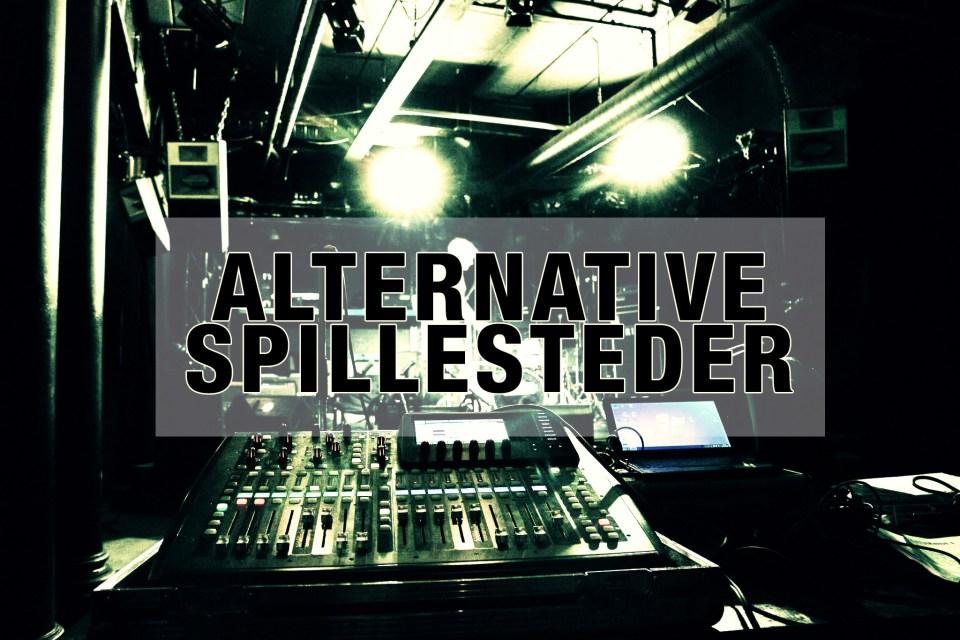 Alternative spillesteder