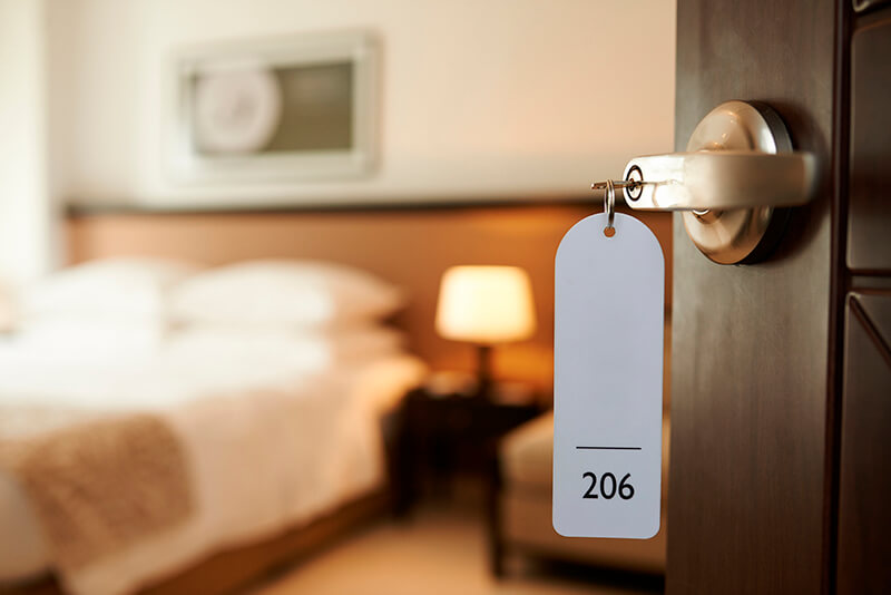 Få rabat på hotelværelser