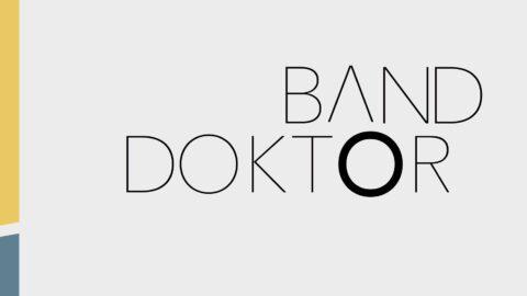 Banddoktor – Erfaringer gennem 10 år i bogformat!