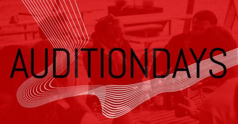 Programmet til AuditionDays er offentliggjort
